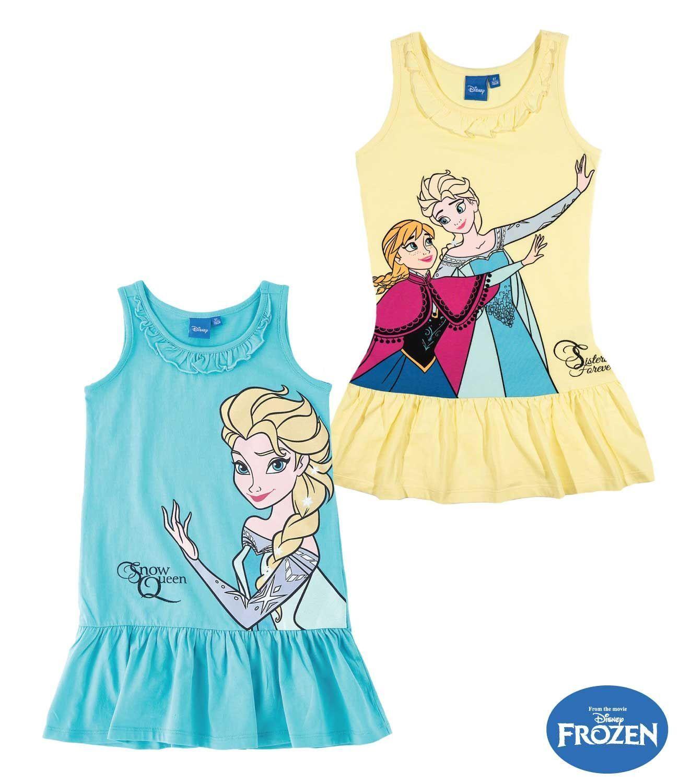 Disney Frozen  Eiskönigin Sommer Kleid Gr 98 /  128  oder 140 NEU Lizenzware