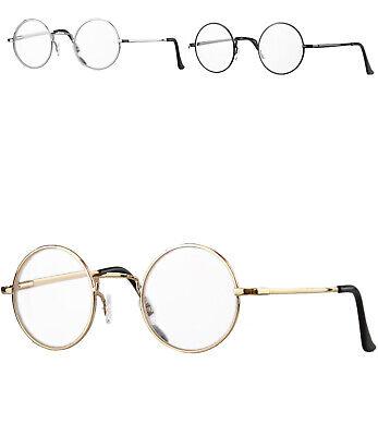 Caripe Retro Lesebrille rund Damen Herren Lennon Brille Vintage Lesehilfe -815ML