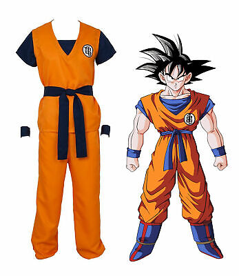 Dragon Ball Z Son Goku Turtle senRu Costume Outfits Halloween Cosplay Party ZG - Dragon Ball Z Halloween Costumes Goku