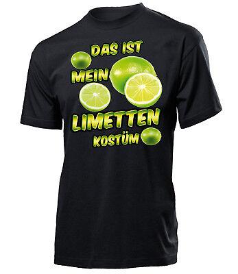 Das ist mein Limetten Kostüm Herren T-Shirt Gr.S-XXL Golebros Fasching - Mein Herr Kostüm