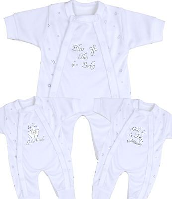 BabyPrem Preemie Baby Clothes Sleeper Christening Wear Keepsakes 1.5-7.5b
