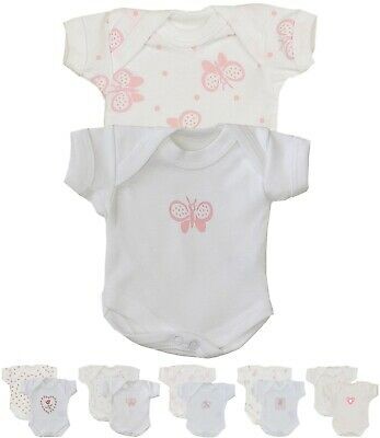 BabyPrem Micro Preemie Tiny Baby Clothes Girls One-Pieces Bodysuits 1.5 - 7.5lb Micro Preemie Clothes