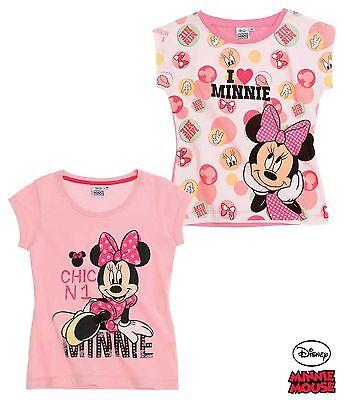 Disney Minnie Mouse Mädchen T-Shirt Kurzarm Gr. 104,116, 128, 134, 140 Neu!!! online kaufen