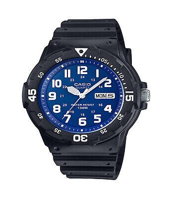 Casio Mens Dive Style Watch, Black/Blue