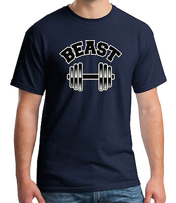 Beast Cool Gift for him Adult's T-shirt Workout Mode Tee for Men - 1128C Him Adult T-shirt