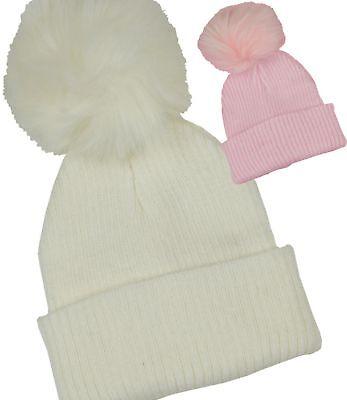 babyprem vêtements de bébé filles hiver Chapeaux côtes tricot bonnet Beanie avec