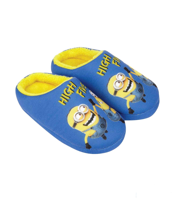 Minions Hausschuhe Kinder Jungen Gr. 25-32 Pantoffeln Schuhe Latschen  neu!