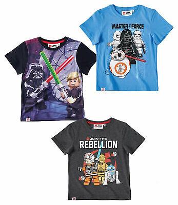 Lego Star Wars Kinder Jungen kurzarm T-Shirt Gr.104-140  Shirt kurzarm (Star Wars Kinder T Shirts)
