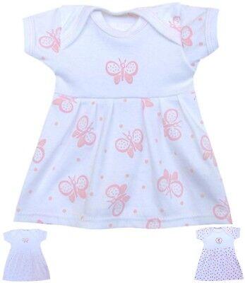 BabyPrem Preemie Premature Tiny Baby Clothes Girls Dress Dresses - Up to 7.5lbs