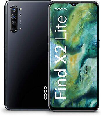 "OPPO FIND X2 LITE 5G MOONLIGHT BLACK 6.4"" 8GB RAM 128GB GARANZIA ITALIA 24 MESI"