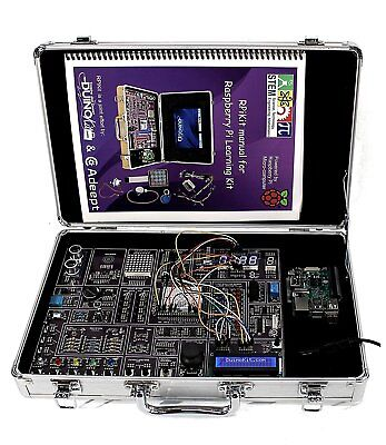RPiKit - Raspberry Pi Arduino Learning Kit with RFID Module (No Tablet Included)