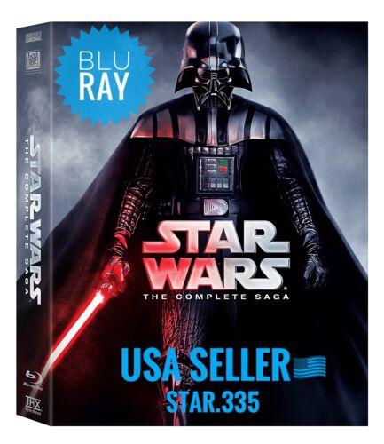 BRAND NEW Star Wars: The Complete Saga 1,2,3,4,5,6 (9 BLU-RAY Disc Box Set)