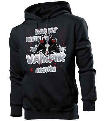 Das ist mein Vampir Kostüm Herren Hoodie Gr.S - Das Ist Mein Halloween Kostüm Hoodie