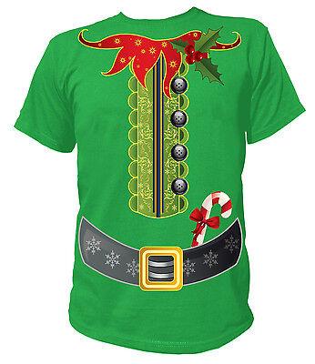 UNISEX T-Shirt - Weihnachten Elfenkostüm Kostüm Elf Elfe Merry Christmas Santa