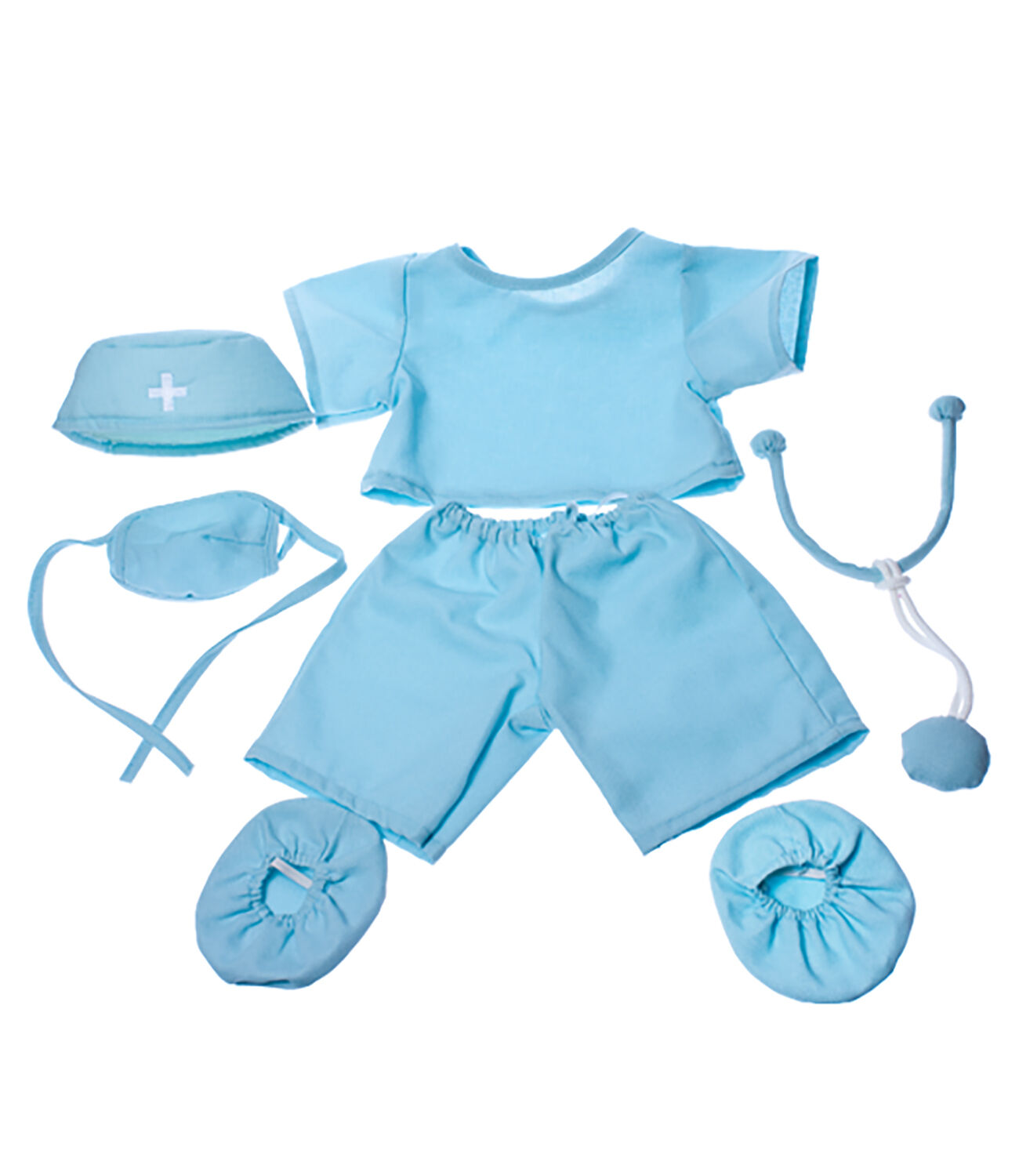 Doctor Scrubs Outfit Teddy Bear Clothes Fits Most 14