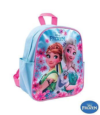 Disney Frozen Eiskönigin Rucksack 28 cm Fotodruck Kindergartentasche Tasche NEU  ()