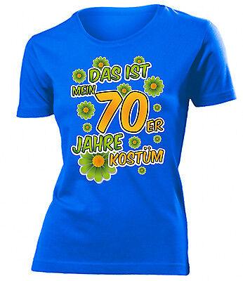 Karnevalskostüm -Das ist mein 70er Jahre kostüm  T-Shirt Damen S-XXL ()