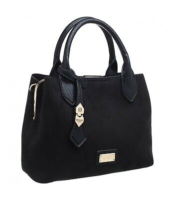 Faux Suede Tote Bag (Bessie London Faux suede Tote bag (Various colours ))