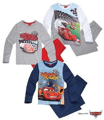 Kinder Jungen Schlafanzug Gr. 92-128 Pyjama  Nachtwäsche Cars Neu OVP ()