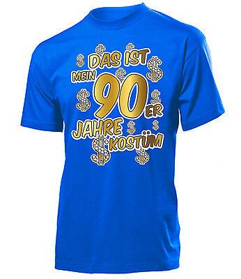 Karnevalskostüm - Das ist mein 90er Jahre kostüm  T-Shirt Herren - Das Ist Mein Kostüm T