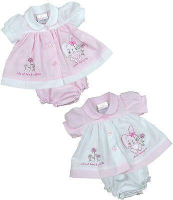 BabyPrem Premature Preemie Tiny Baby Clothes Girls Dresses Bunny Dress 3-8lb