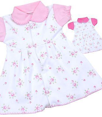 Robe BabyPrem prématurés Preemie Vêtements de bébé Filles Rose 32 - 50cm
