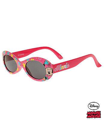 Sonnenbrille Minnie Mouse 100% UV-Schutz Rot Kinder   NEU und OVP