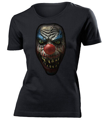HALLOWEEN - KILLER CLOWN T-Shirt Damen Gr.S bis XXL - Golebros Horror