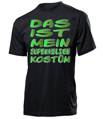 FASCHING - KARNEVAL - DAS IST MEIN SUPERHELDEN KOSTÜM T-Shirt Herren - Das Ist Mein Kostüm T