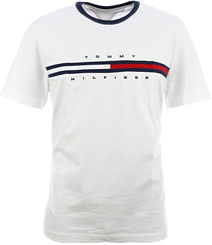 Alle Großen Tommy Hilfiger Herren T-Shirt Baumwolle T-Shirt