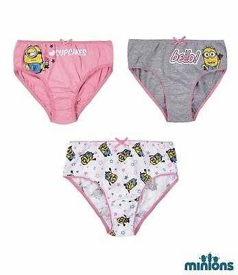 Disney Minions Minion Unterwäsche Unterhosen Slips Schlüpfer 3er - Minions Disney