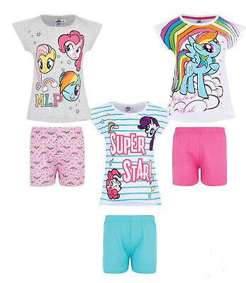 My little Pony Mädchen Schlafanzug kurzarm Gr. 92-128 Shorty Pyjama neu! ()