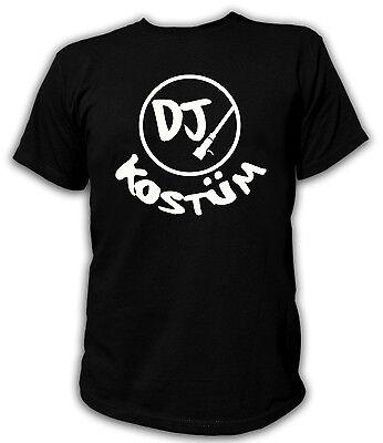 Kult T-Shirt S-XXL DJ Discjockey Kostüm Karneval Fasching - Disc Jockey Kostüm