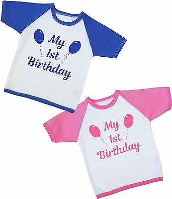 BabyPrem Baby Boys Girls Clothes MY BIRTHDAY T-Shirt Tee Top 1ST 2ND 3RD