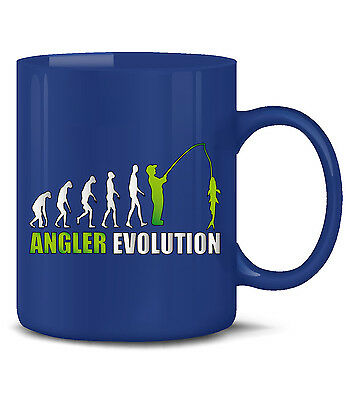 ANGELN - ANGLER EVOLUTION KaffeeBecher - Teetasse - Keramik Becher (Angeln Tee-tasse)