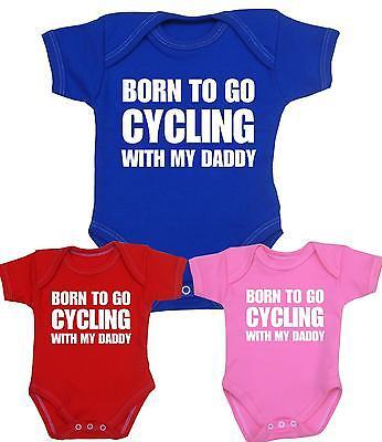Babyprem Baby Jungen Mädchen Babyparty Geschenke Radfahren Daddy Body