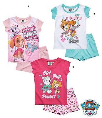 Disney Paw Patrol Shorty Mädchen Pyjama kurzarm ()