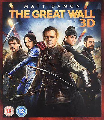The Great Wall  Matt Damon  3D   2D Blu Ray Brand New Free Ship