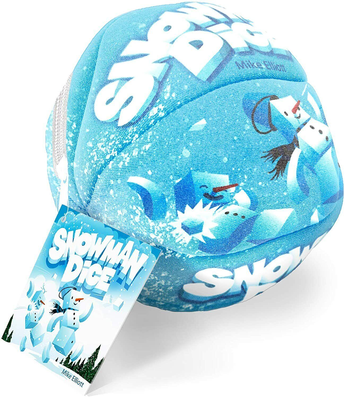 Snowman Dice Family Game Brain Games BGP 5588 Build Flick Fast Kids Travel