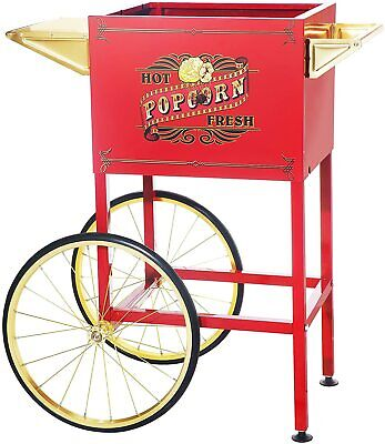 6403 Red Replacement Cart For Larger Princeton Style Northern Popcorn Machines