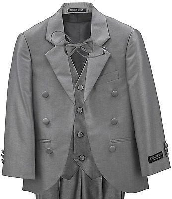 Gray Suits For Boys (Little Boy's Gray Suit/Tuxedo for Wedding,)