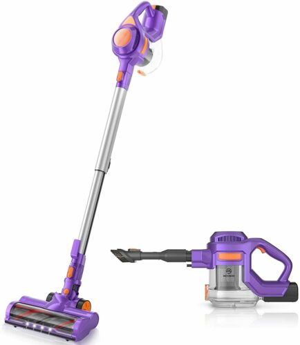 Cordless Vacuum Cleaner, 24KPa Suction Lightweight 4 in 1 Stick 1.3L Capacity US