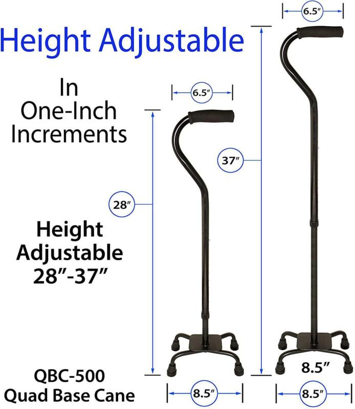 RMS Adjustable 4-Pronged Stability