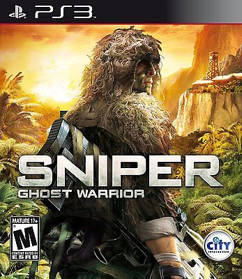 Sniper Ghost Warrior PS3 NEW! MILITARY SHOOTER, WAR, MISSION, WARFARE, KILL ZONE segunda mano  Embacar hacia Argentina