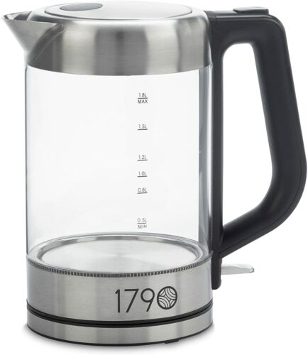 Electric Water Kettle 1.8 Liter Cordless Stainless Steel