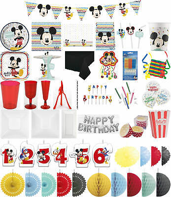 Kinder-Geburtstag Premium Party Deko Feier Fete Motto Mickey Mouse