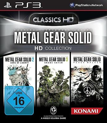 Sony PS3 Playstation 3 Spiel ***** Metal Gear Solid HD Collection *******NEU*NEW