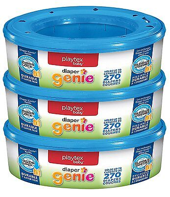 Playtex Diaper Genie Refills For Diaper Genie Diaper Pails - 270 Count (Pack Of 3) 7