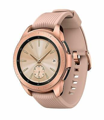 Samsung Galaxy Watch - 42mm Rose Gold Bluetooth Smart Fitness GPS WiFi Excellent