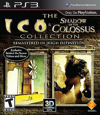 The Ico And   Shadow Of The Colossus Hd Collection  Playstation 3 Ps3  Brand New